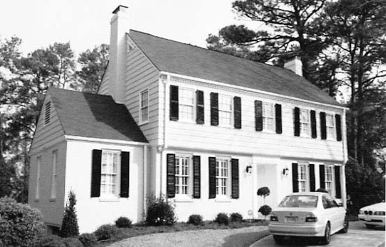 Garrison House Style Minimalist Home Design Minimalist
